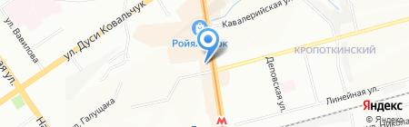 Аник-Спорт на карте Новосибирска