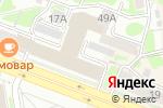 Схема проезда до компании ЛаЛуна в Новосибирске