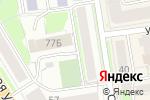 Схема проезда до компании Король & Королева в Новосибирске