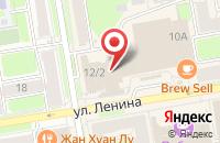 Схема проезда до компании Сир в Новосибирске