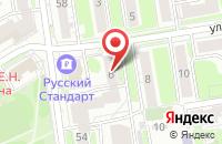 Схема проезда до компании Уникальное Предложение в Новосибирске