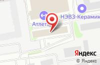 Схема проезда до компании Глянец в Новосибирске