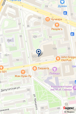 ОБСКАЯ АВТОБАЗА на карте Новосибирска