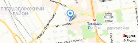 Агротранс-Восток на карте Новосибирска
