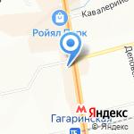 Золотая рожь на карте Новосибирска