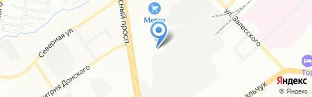 Новый Город на карте Новосибирска