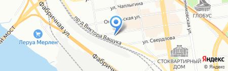 СВ-Комплект на карте Новосибирска
