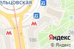 Схема проезда до компании Agfa в Новосибирске