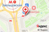 Схема проезда до компании Пластбург-Сибирь в Новосибирске