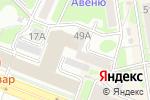 Схема проезда до компании ИНДИГО в Новосибирске