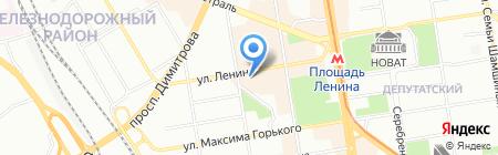 АЛЬФА-БАНК на карте Новосибирска