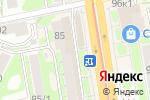 Схема проезда до компании Агрос в Новосибирске