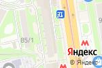 Схема проезда до компании Батон в Новосибирске