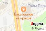 Схема проезда до компании TripShop в Новосибирске