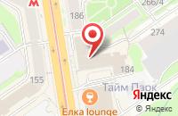 Схема проезда до компании Орбита в Новосибирске