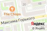 Схема проезда до компании Ремикс в Новосибирске