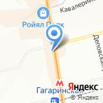 Сибирская булошная на карте Новосибирска