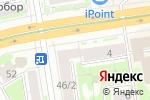 Схема проезда до компании Альфа-банк в Новосибирске