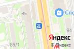 Схема проезда до компании Инмарко в Новосибирске