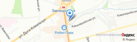 Сибирский Терем на карте Новосибирска