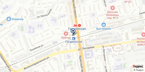 БЕЛЫЙ КРОЛИК на карте Новосибирске