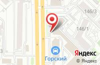 Схема проезда до компании Автошина54 в Новосибирске