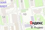 Схема проезда до компании Манежный в Новосибирске