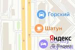 Схема проезда до компании Баязет в Новосибирске