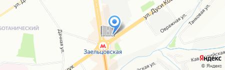 Джинсоман на карте Новосибирска