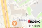 Схема проезда до компании Ромб в Новосибирске