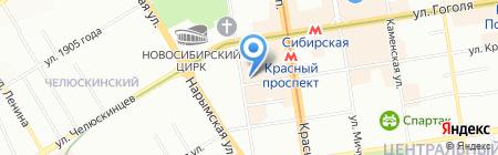 Facon Russe на карте Новосибирска