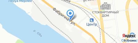 НСК АВТО на карте Новосибирска