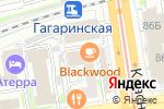 Схема проезда до компании Прибрежный в Новосибирске