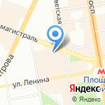 Брайт Лайф на карте Новосибирска