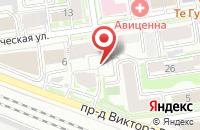 Схема проезда до компании Челябжилтехсервис в Новосибирске