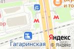 Схема проезда до компании Кофий в Новосибирске