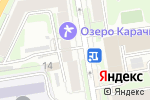Схема проезда до компании Digital print в Новосибирске