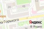 Схема проезда до компании КОРП в Новосибирске