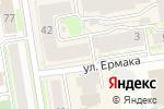 Схема проезда до компании Центральный в Новосибирске