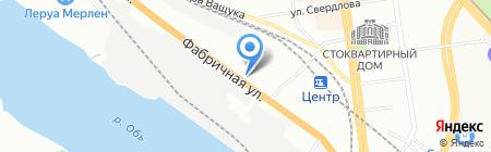 Энергия на карте Новосибирска
