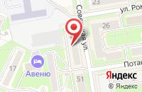 Схема проезда до компании Перспектива в Новосибирске
