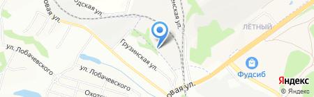 Продукт на карте Новосибирска