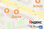 Схема проезда до компании Правильные люди в Новосибирске