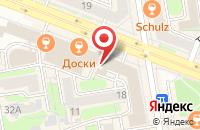 Схема проезда до компании Генезис-Строй в Новосибирске