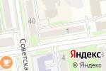 Схема проезда до компании KOOK в Новосибирске