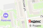 Схема проезда до компании Архстройинвест в Новосибирске