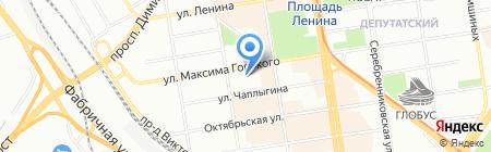 Юрсервис на карте Новосибирска