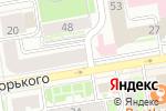Схема проезда до компании Фамилия в Новосибирске