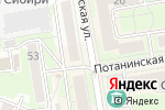 Схема проезда до компании Интерьер-Эксклюзив в Новосибирске