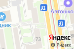 Схема проезда до компании ДПИ-полиграфия в Новосибирске